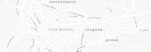 Карта Гоце Делчев